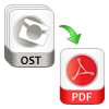 save ost files into pdf in batch