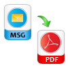 export msg in pdf