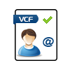 Vcf files to pst or vcard to csv