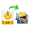recover data from zip file