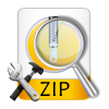 explain how to repair damaged zip files