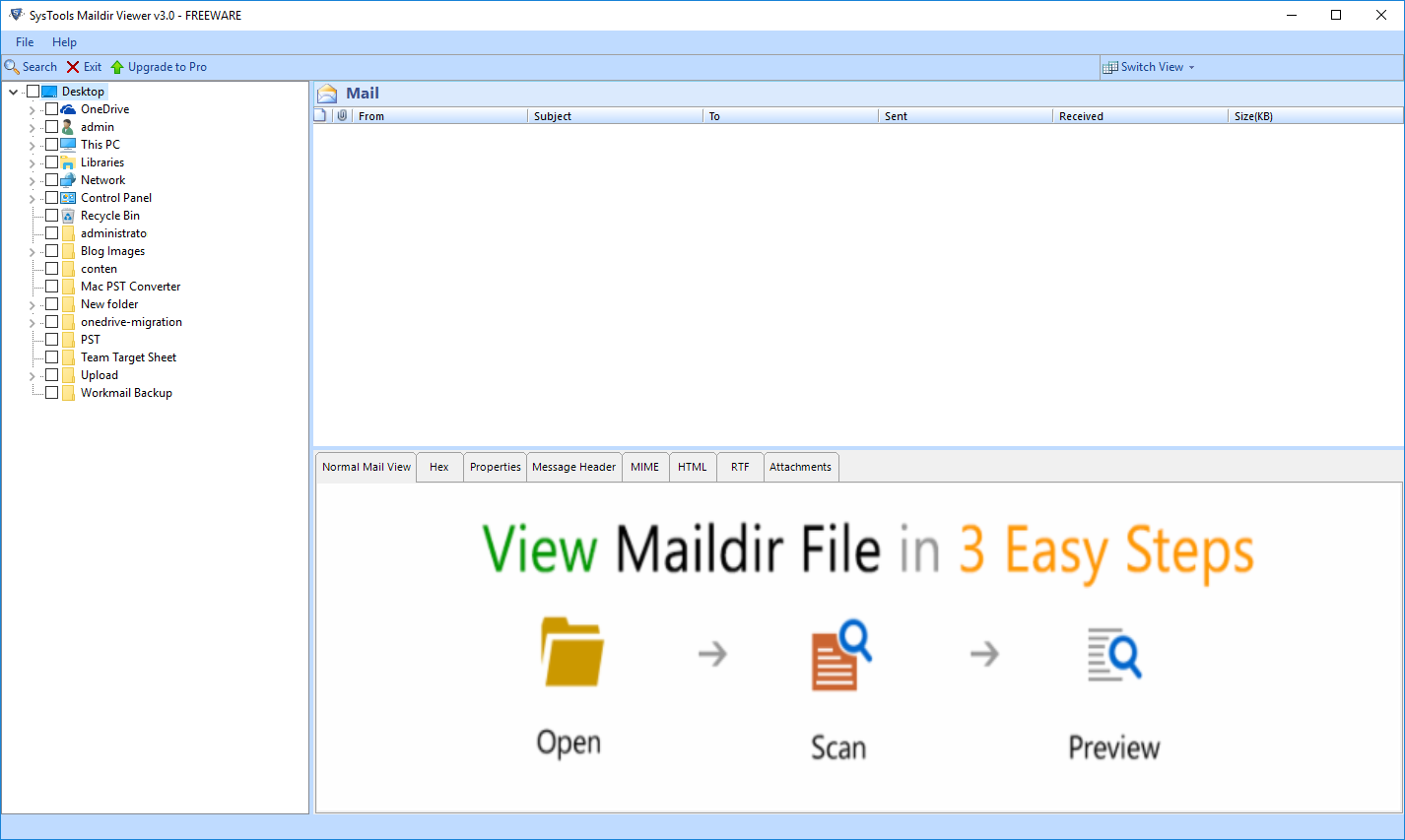 maildir viewer windows