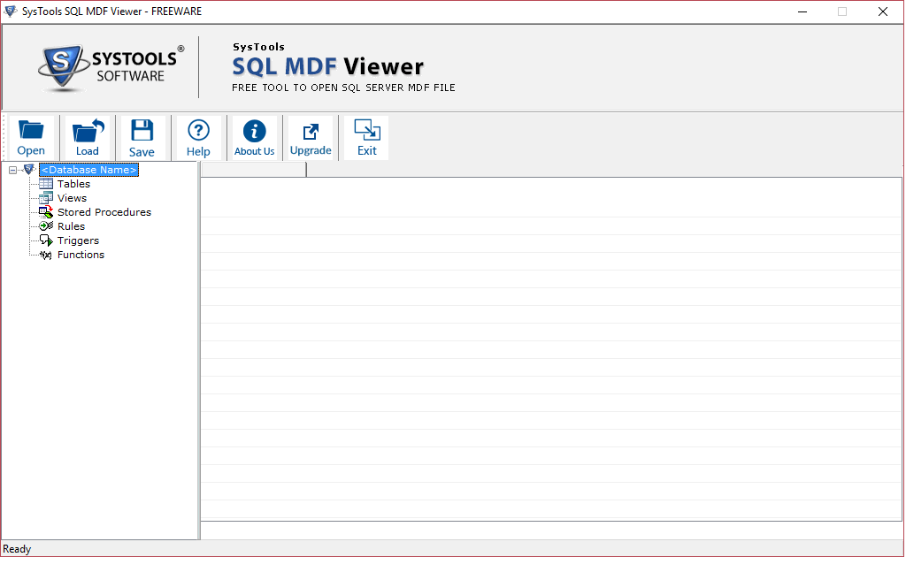 view & read MDF file data