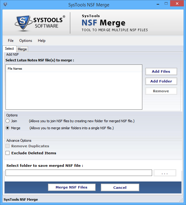 NSF Merge Software