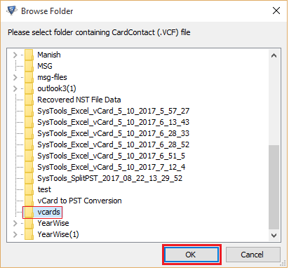 convert multiple vcard files to csv