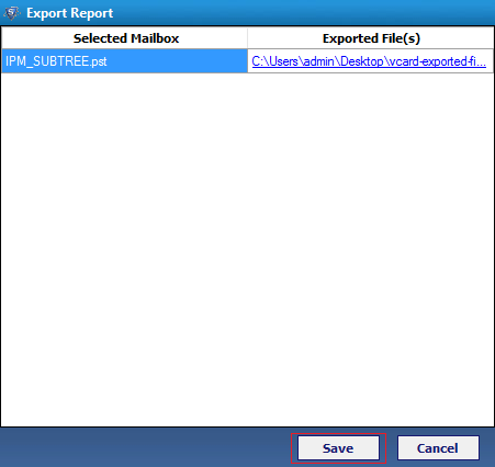 vCard Export Tool – Convert Outlook Contacts to VCF, Google
