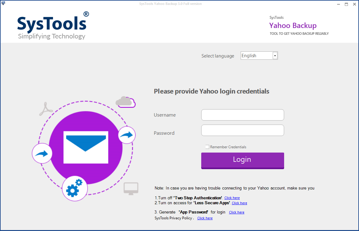 Yahoo Email Backup Software